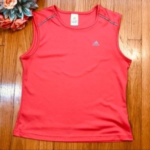 Climalite Muscle Tank Athletic Cropped Top Adidas